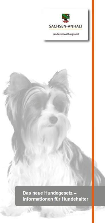 Das neue Hundegesetz - Informationen für Hundehalter