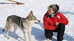 Hundetrainerin Janny Volkert